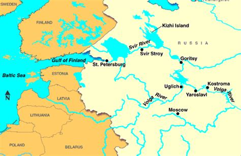 volga river map volga river discount cruises last minute cruises notice cruises vacations to go