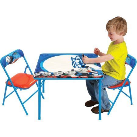 erasable table and chair set thomas and friends erasable activity table set with 3