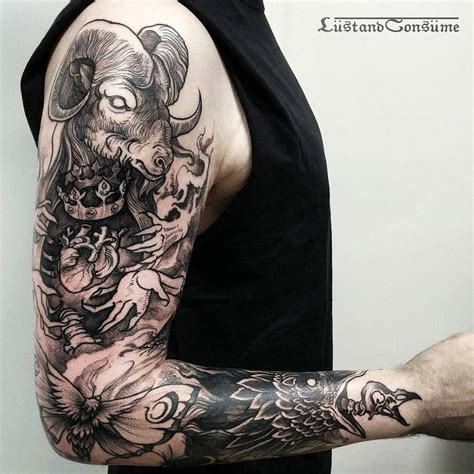 badass tattoo sleeves sleeve by phil tworavens tattoos