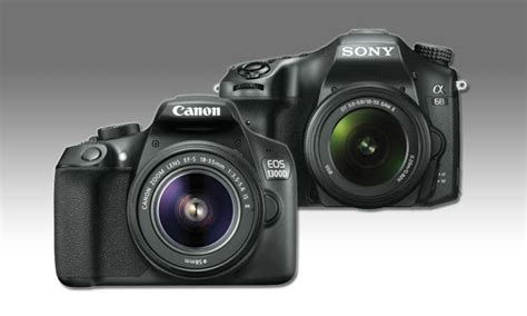 Kamera Canon 1300 Canon Eos 1300d Vs Sony Alpha 68 Im Vergleichs Test Pc Magazin