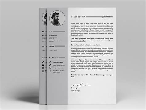 Portfolio Cv by Free Ya Resume Letter Portfolio On Behance