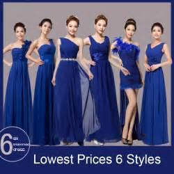 popular royal blue bridesmaid dress buy cheap royal blue