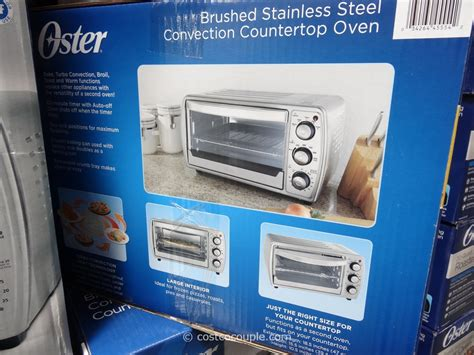 Oster Convection Countertop Oven Costco by Oster Countertop Convection Oven