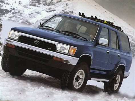 1994 Toyota 4runner Gas Mileage 1994 Toyota 4runner Specs Safety Rating Mpg Carsdirect