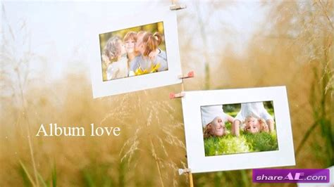photo album after effects template free album after effects project videohive 187 free