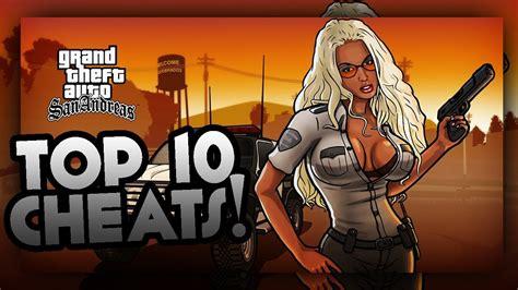 Atasan Andreas Top gta san andreas top 10 most cheatcodes best gta sa cheats pc