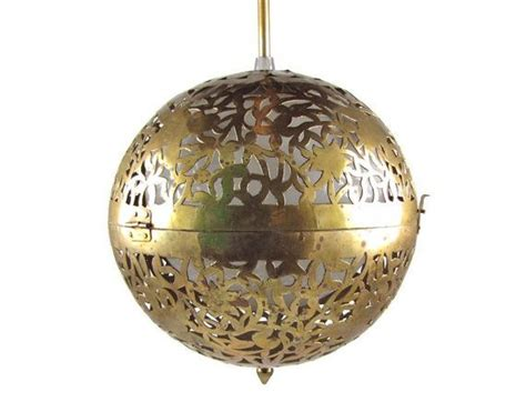 always wondered how you changed the light globes for those flush to mirror light fixtures orb vintage pierced brass sphere pendant light fixture wired working with