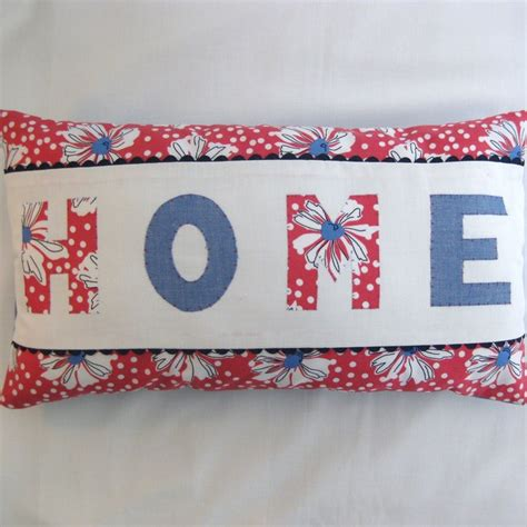 Folksy Handmade - handmade applique scatter cushion folksy craftjuice