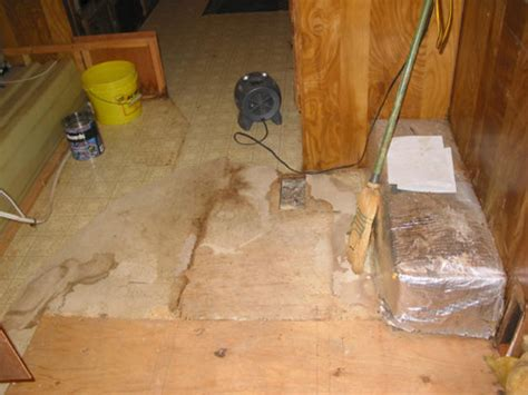 water damage within your rv