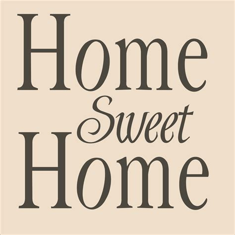 home stencil stencils home sweet home stencil 6 sizes by superiorstencils