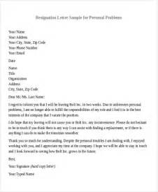Official Employment Letter Format Resignation Letter Format
