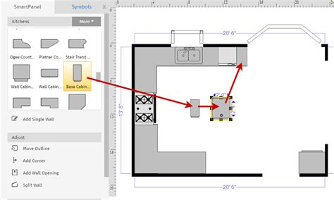 smartdraw floor plan how to draw a floor plan with smartdraw