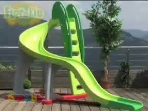 Backyard Water Slides Smoby Childrens U Turn Large Garden Kids Slide Youtube
