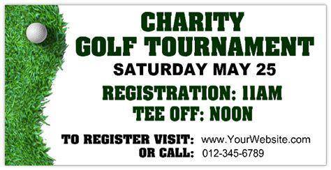 design banner golf golf tournament banner 115 golf tournament banner
