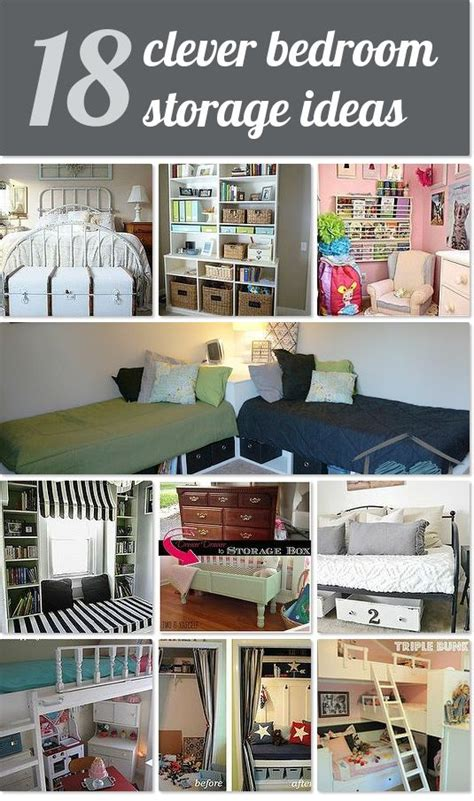 clever bedroom storage ideas idea box  delight creative