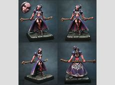 CoolMiniOrNot - Female Wizard by DarkStar Good Sorceress