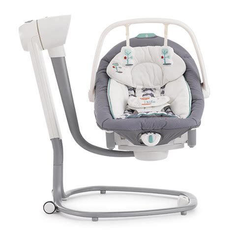 baby swing side to side serina 2in1 swing and rocker joie explore joie