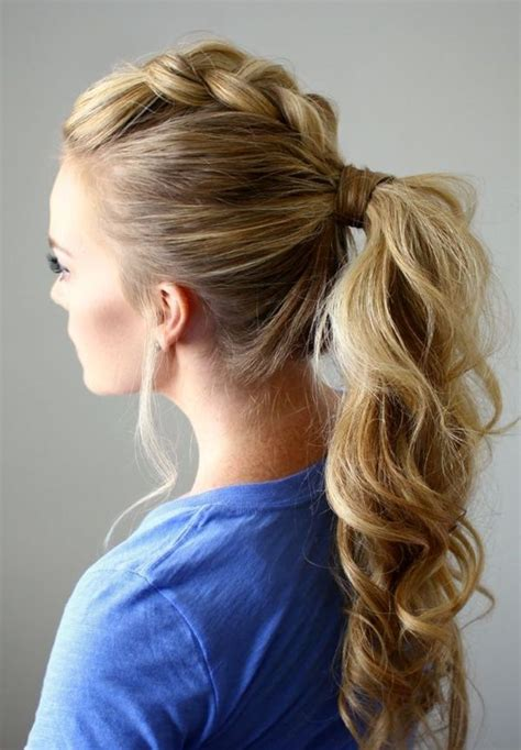 easy waitress hairstyles 25 best ideas about long ponytail hairstyles on pinterest