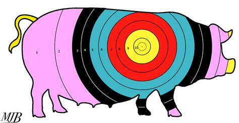 printable pig targets oz pork exports to syria great fat pigs make easy