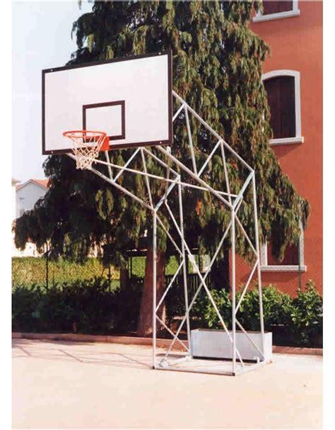 a traliccio impianto pallacanestro olimpionico a traliccio da fissare