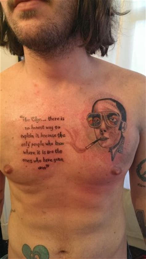 hunter s thompson tattoo s thompson images s hd wallpaper and