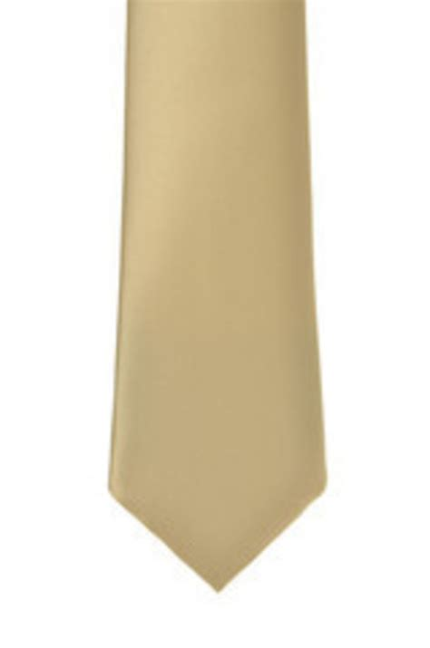 Dasi Satin 7cm Gold light gold satin tie neutral tones ties casey couture limited