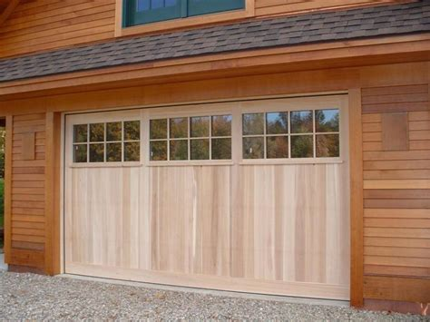 Garage Door Designs 13 Wood Garage Doors With Windows Hobbylobbys Info