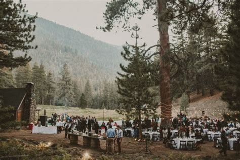 Impossibly Romantic Woodland Wedding at YMCA Camp Round