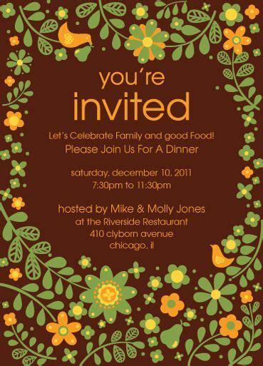 invitation card design for restaurant invitation card restaurant gallery invitation sle and