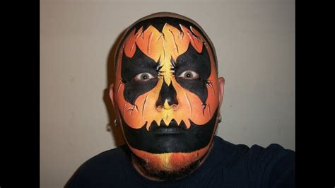 wicked pumpkin halloween face painting marvelous masks