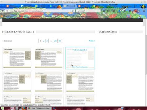 membuat halaman utama html membuat halaman utama menggunakan css template otto