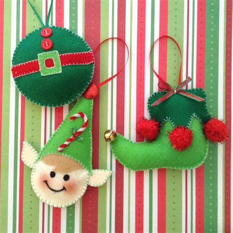 Handmade Decorations Patterns - 25 best ideas about felt ornaments patterns on