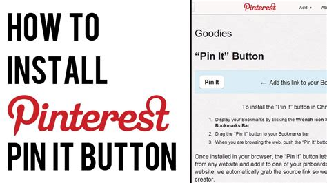 how do i upload a photo to pinterest ask dave taylor how to add pinterest pin it button to bookmarks bar