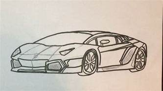 Lamborghini How To Draw How To Draw A Lamborghini