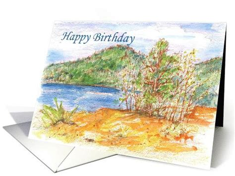 Landscape Birthday Pictures Happy Birthday Lake Outdoor Mountain Landscape