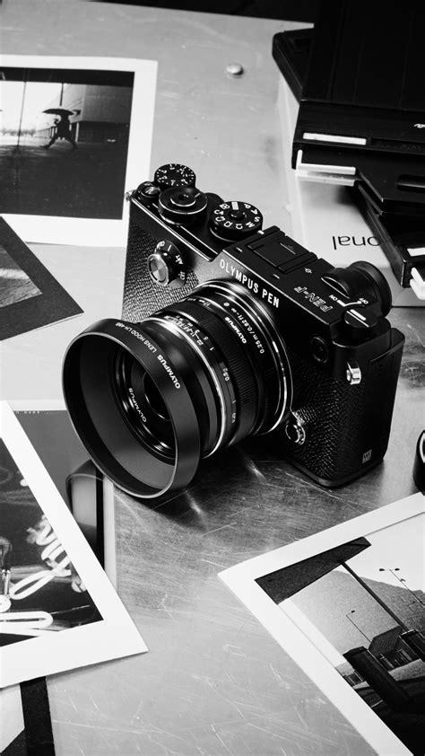 Wallpaper Olympus PEN-F, mirrorless camera, review, body