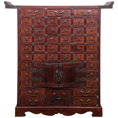 apothecary cabinet chinese multi drawer apothecary chest at 1stdibs