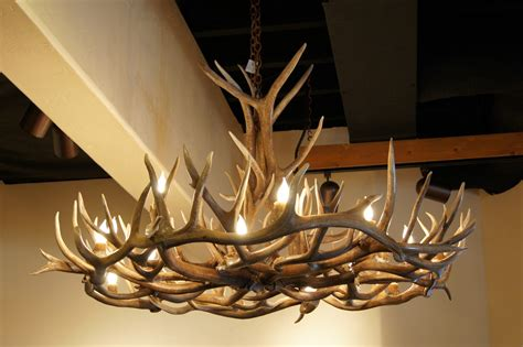 antler chandeliers the peak antler company august 2011