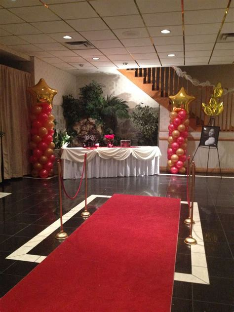 red carpet themed birthday party red carpet birthday party ideas photo 13 of 20 catch