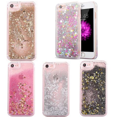 sparkly dynamic liquid bling glitter for iphone 5 6 6s 7 plus ebay