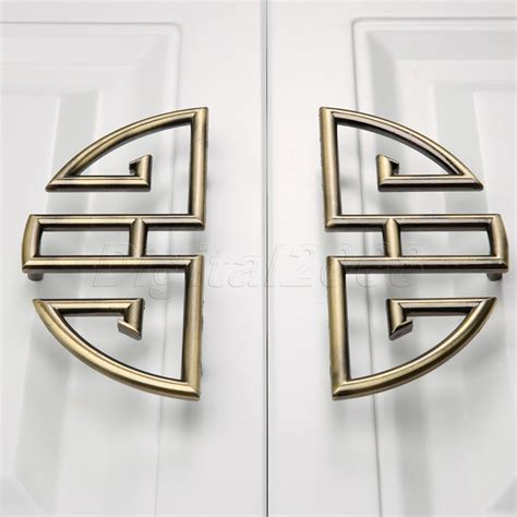 kitchen cabinet door handles and knobs 1 pair 96mm vintage furniture cupboard wardrobe handles