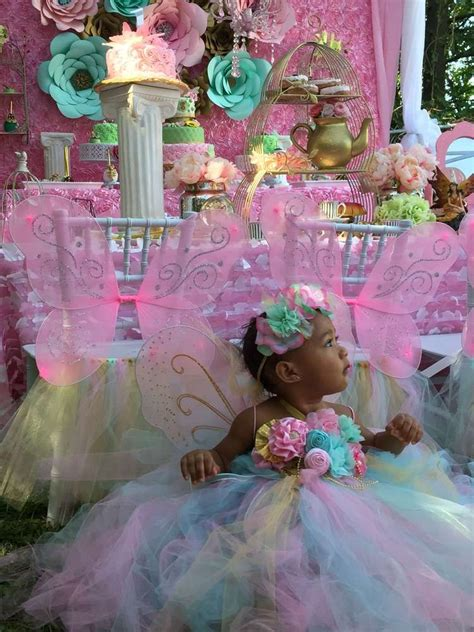fairy talegarden tea party birthday party ideas fairy