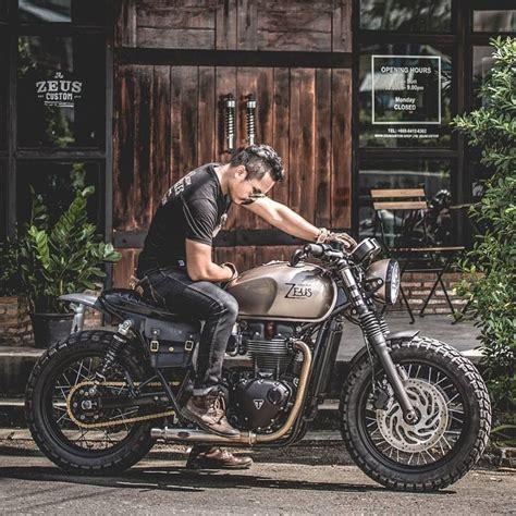 Triumph Motorrad Instagram by Boronze Project Zeuscustom Zeuscustomstyle Triumph