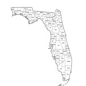 florida map by county florida maps