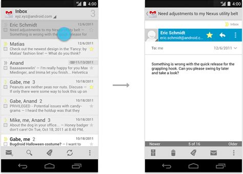 view on android swipe views android developers