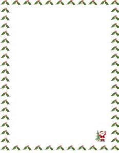 Free christmas letter border templates butik work