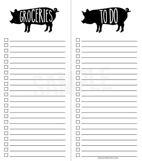 printable to do list com printable grocery list and simple to do list live laugh rowe