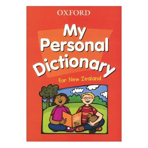 My Personal oxford my personal dictionary for new zealand