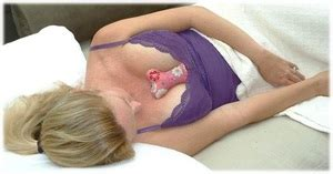 new breast pillow alleviates chest wrinkling
