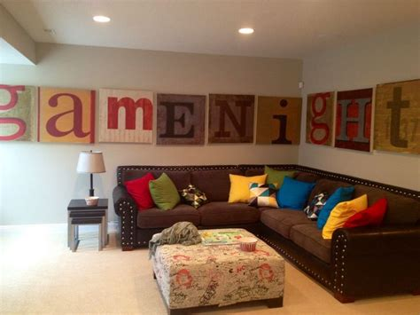 ideas  family game rooms  pinterest game